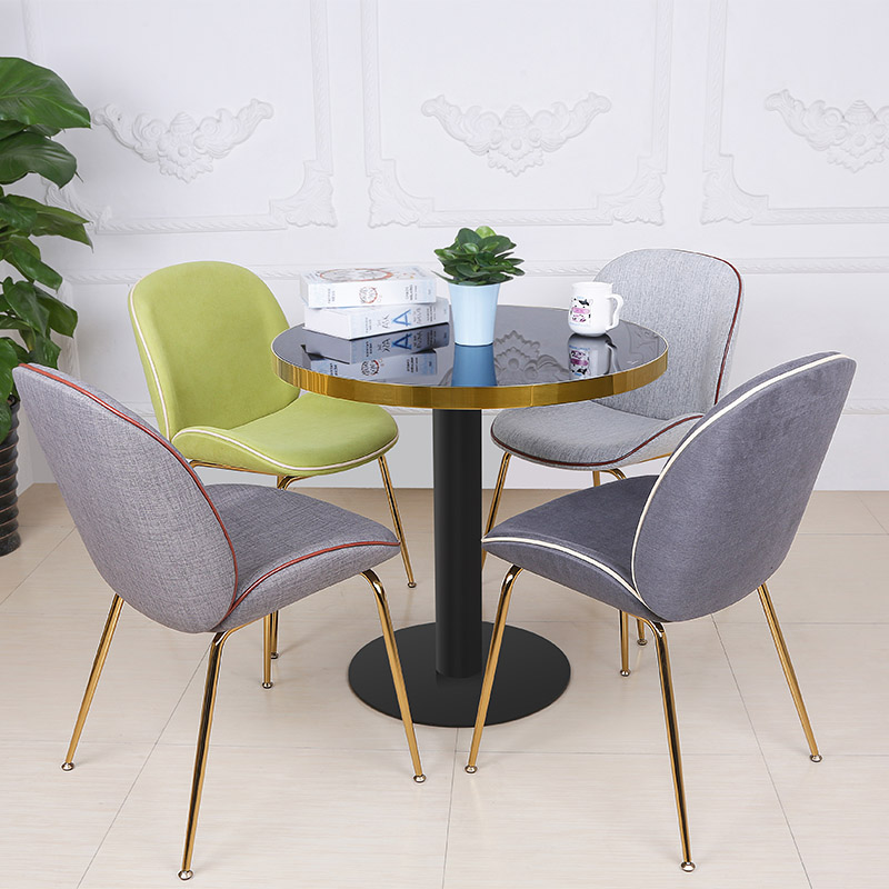 Modern Beetle Side Dining Chair Upholstered (SP-HC436)-7