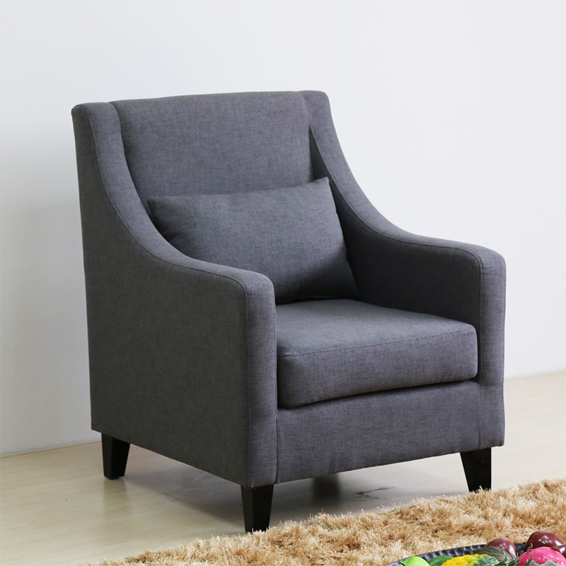 Uptop Furnishings-Classic And Traditional Linen Fabric Accent Living Room Chairs-4