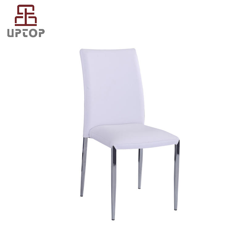 UPTOP Assembled Faux Leather Stackable Dining Chair (SP-LC219)