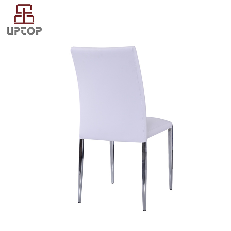 Uptop Furnishings-Find Industrial Leather Dining Chairs Restaurant Metal Chair From Uptop
