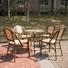 metal restaurant chairs french frame Bulk Buy black Uptop Furnishings