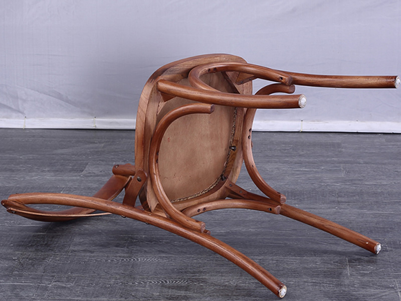 Uptop Furnishings-Wood Restaurant Chair Manufacture | Cross Back Solid Wood Chair-2