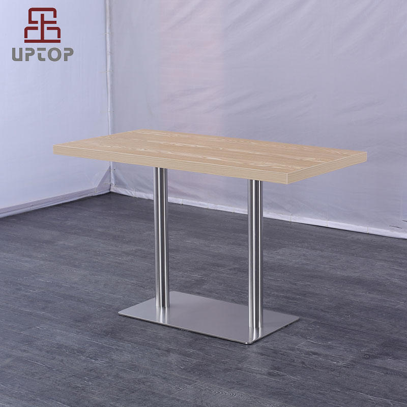 Modern Rectangular Restaurant Dining Table with Laminate top (SP-RT615)