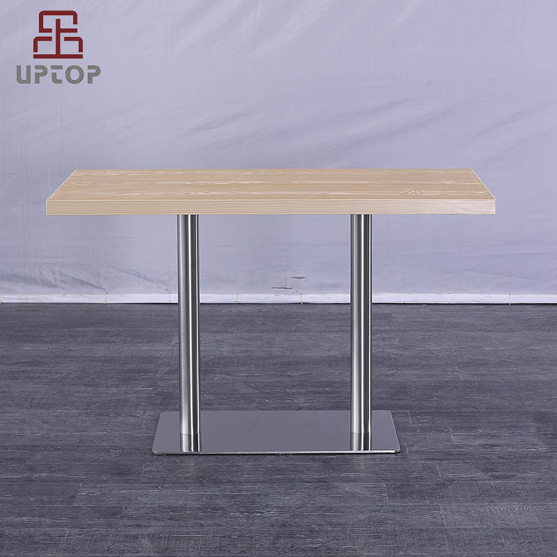 Uptop Furnishings-Modern Rectangular Restaurant Dining Table with Laminate top SP-RT615-1