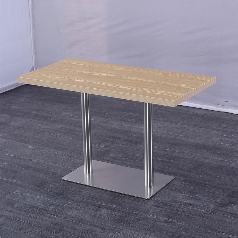 Uptop Furnishings-Dining Table Online | Modern Rectangular Restaurant Dining Table-5