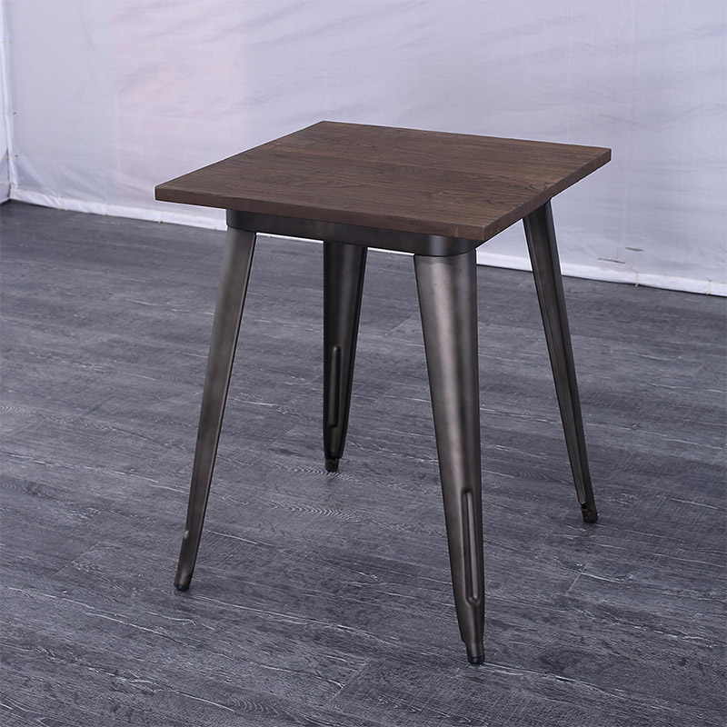Uptop Furnishings-Best Dining Tables For Small Spaces Industrial Tolix Style Dining Table-5