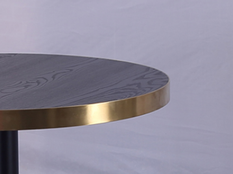 Uptop Furnishings-Quality Dining Table | Laminate Top Round Restaurant Dining Table-1