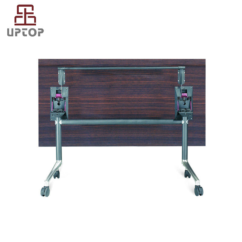 Flip Top Conference Folding Table with Metal Base (SP-FT406)