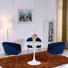 edge industrial tulip dining table Uptop Furnishings manufacture