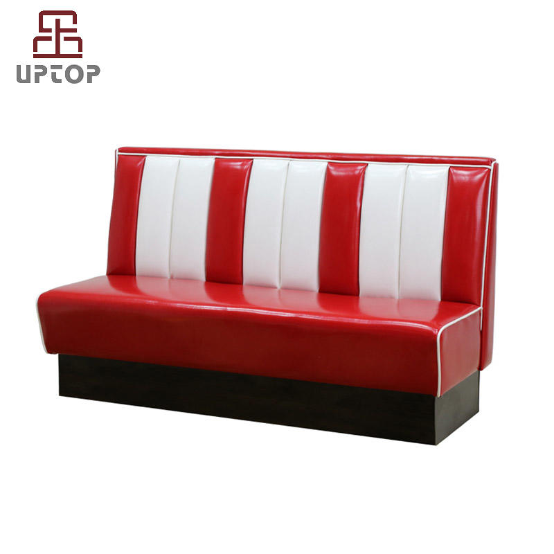 American Style 1950s furniture restaurant sofa booth seating ( SP-KS269 )