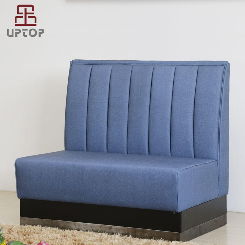 Modern Banquette Bench Seating With High Back Banquettes Upholstered For Restaurant (SP-KS421)