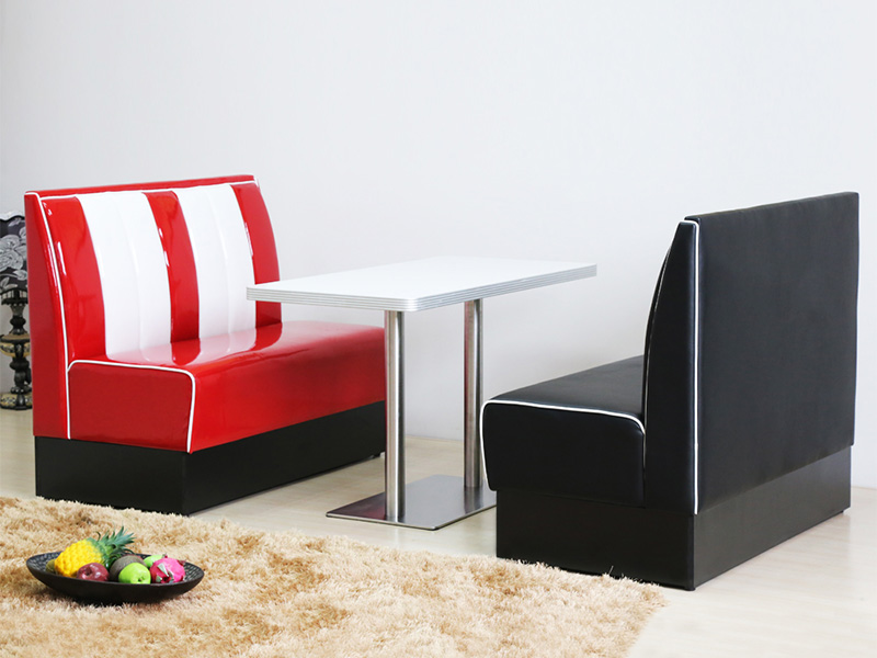 Uptop Furnishings-Find Banquette Booth American Style 1950s Furniture-4