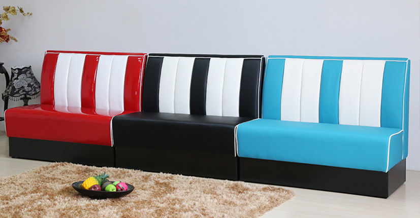 Uptop Furnishings-Find Banquette Booth American Style 1950s Furniture-5