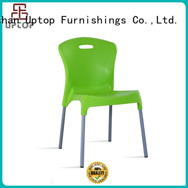 Uptop Furnishings Luxury plastic outdoor chairs bulk production for bar