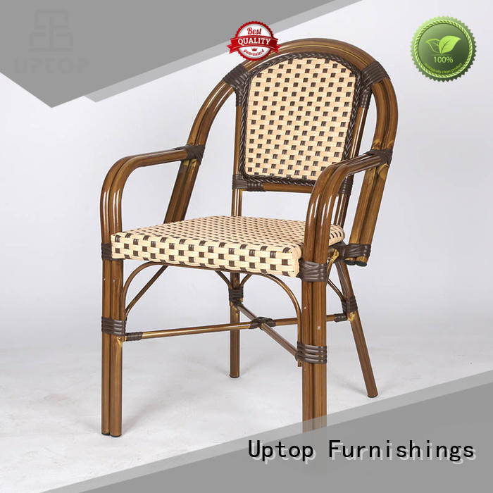 arms retro dining chairs restaurant Uptop Furnishings