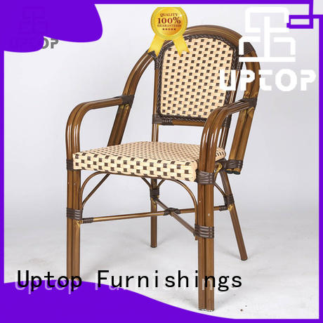 Uptop Furnishings rusty industrial dining chairs factory price