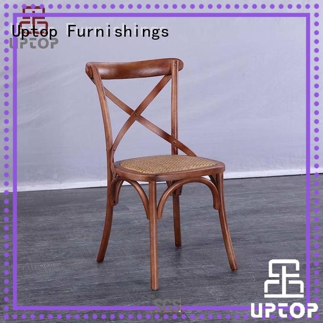 Uptop Furnishings dining wood arm chair factory price for hotel