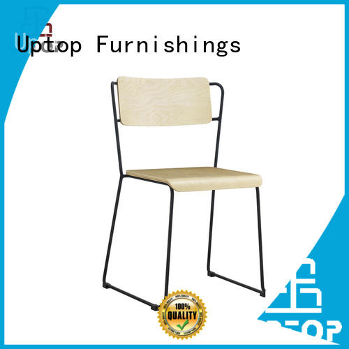 Uptop Furnishings modular stainless steel dining chairs certifications for hotel