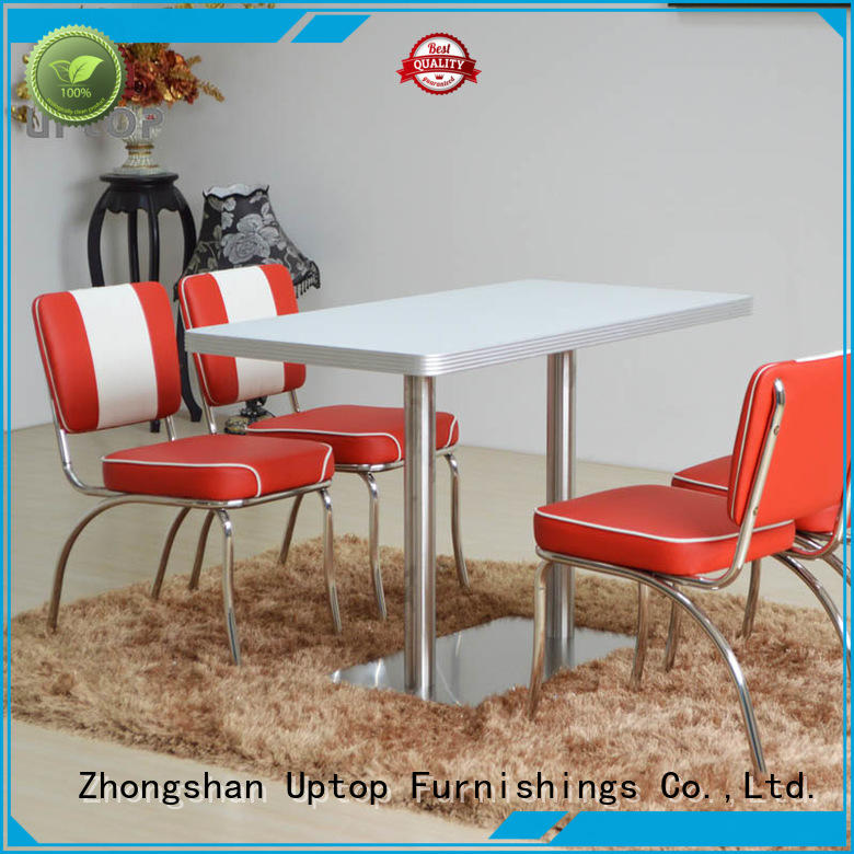 diner bistro dining Uptop Furnishings Brand industrial table and chair factory