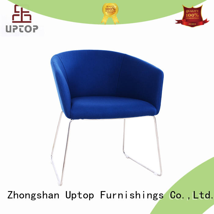 Uptop Furnishings fabric side chairs bulk production for restaurant