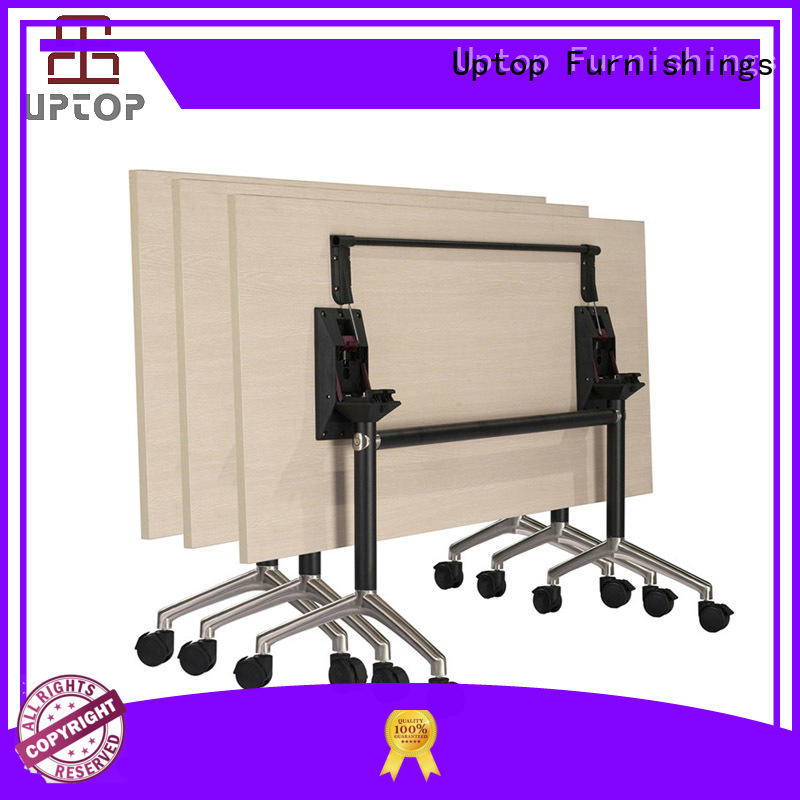 Uptop Furnishings conference folding table China Factory for cafe