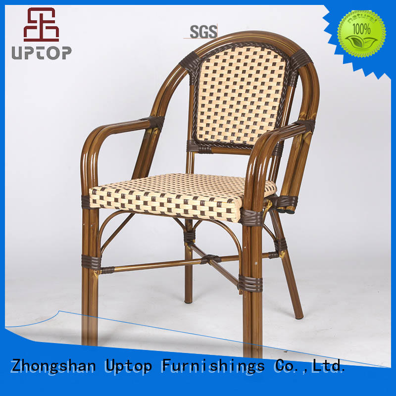 restaurant dining chairs leather for hotel Uptop Furnishings