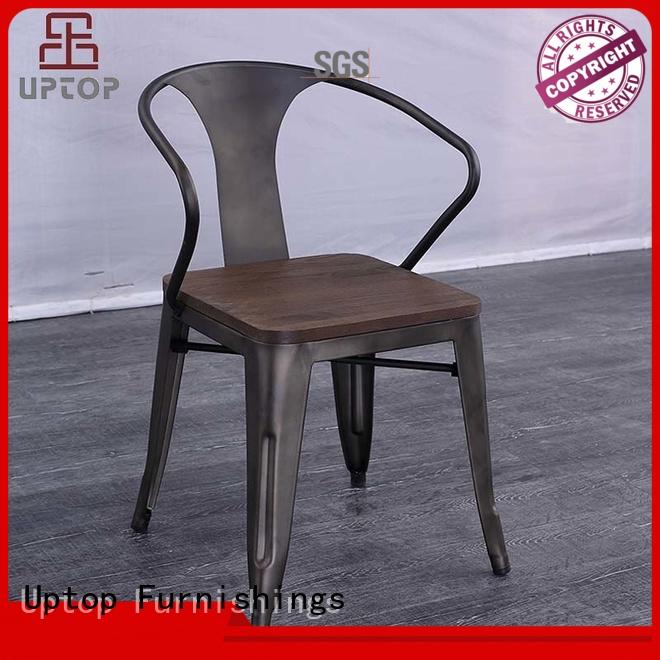 Uptop Furnishings high teach industrial metal chairs free quote for bar
