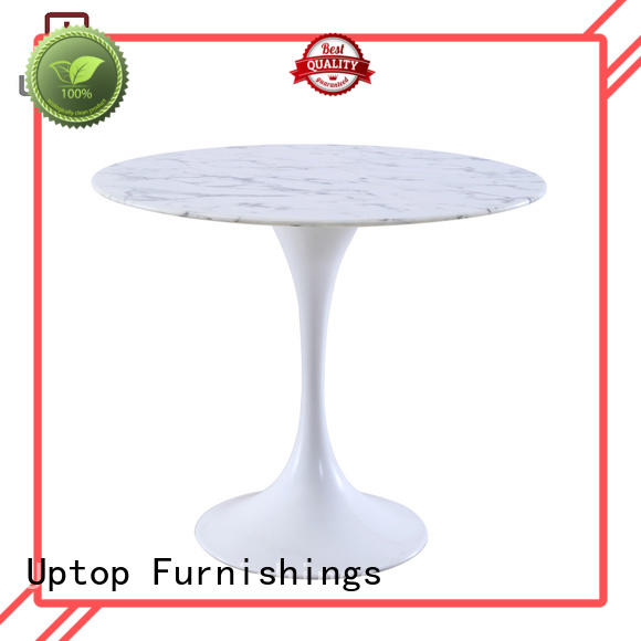 new-arrival white marble tulip table China Factory for hotel
