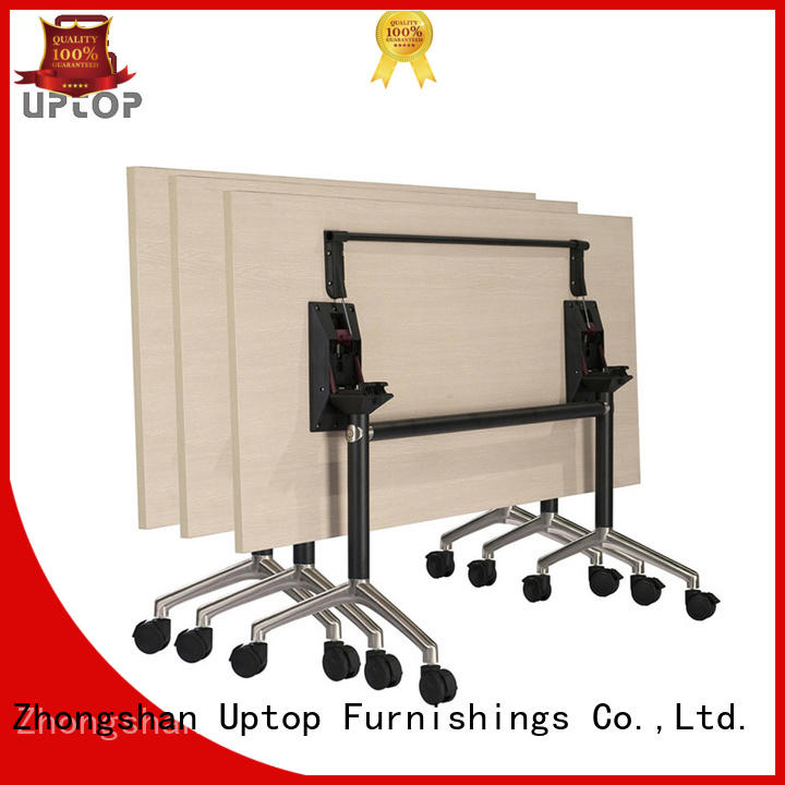 Uptop Furnishings stainless conference table bulk production for bank