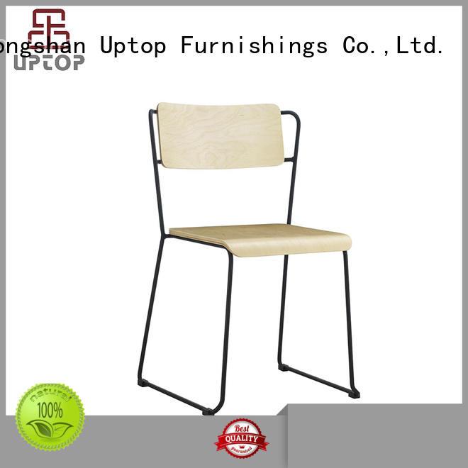 wicker restaurant aluminum Uptop Furnishings Brand metal chair supplier