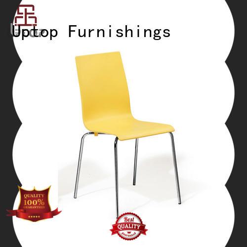 plastic chair chrome bulk production for public