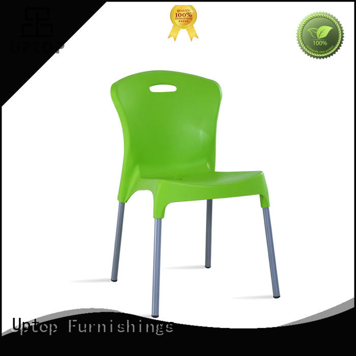 outdoor plastic stacking chairs at discount for restaurant Uptop Furnishings