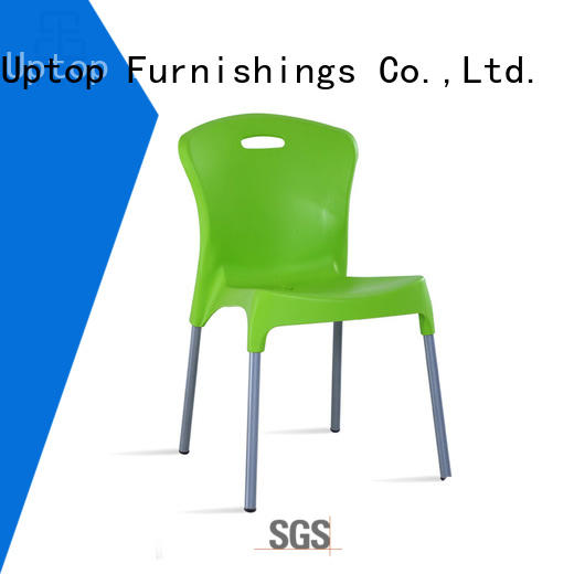 Quality Uptop Furnishings Brand stackable steel plastic chair