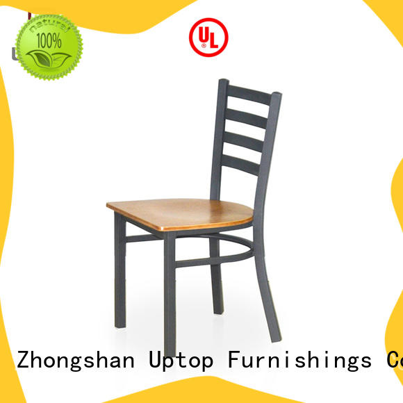 Uptop Furnishings bistro metal chair bulk production for hotel