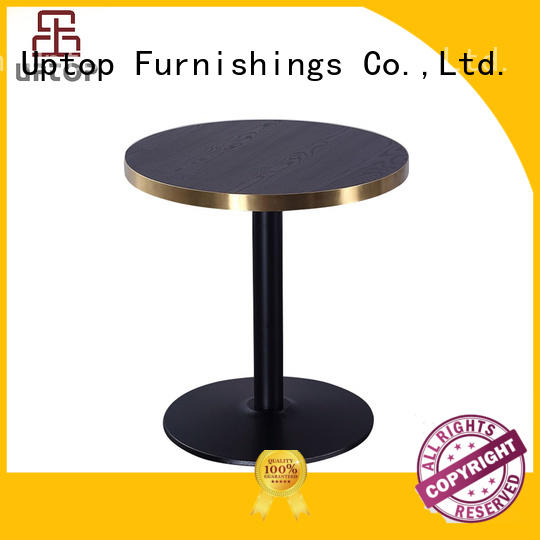 tolix style gold Uptop Furnishings Brand contemporary dining table manufacture