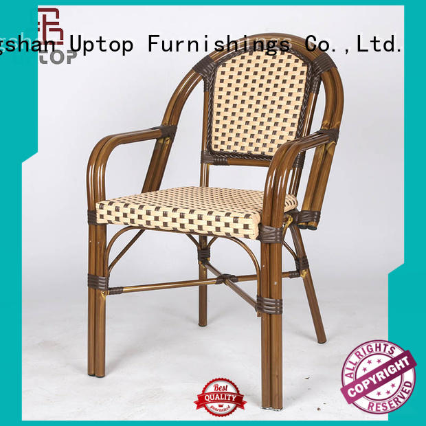 Uptop Furnishings Brand allweather red rusty metal chair