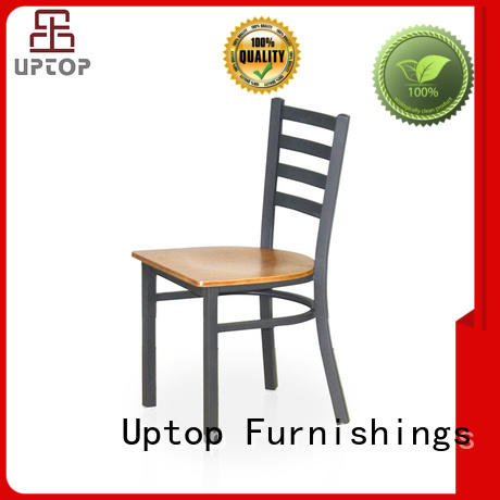 Uptop Furnishings allweather outdoor metal chair bulk production for office space