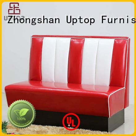 booth seating modern bench restaurant Warranty Uptop Furnishings