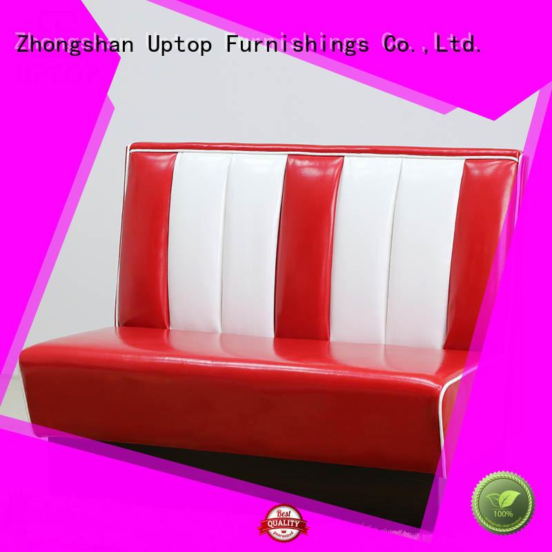 Uptop Furnishings Brand furniture style restaurant booth seating sofa