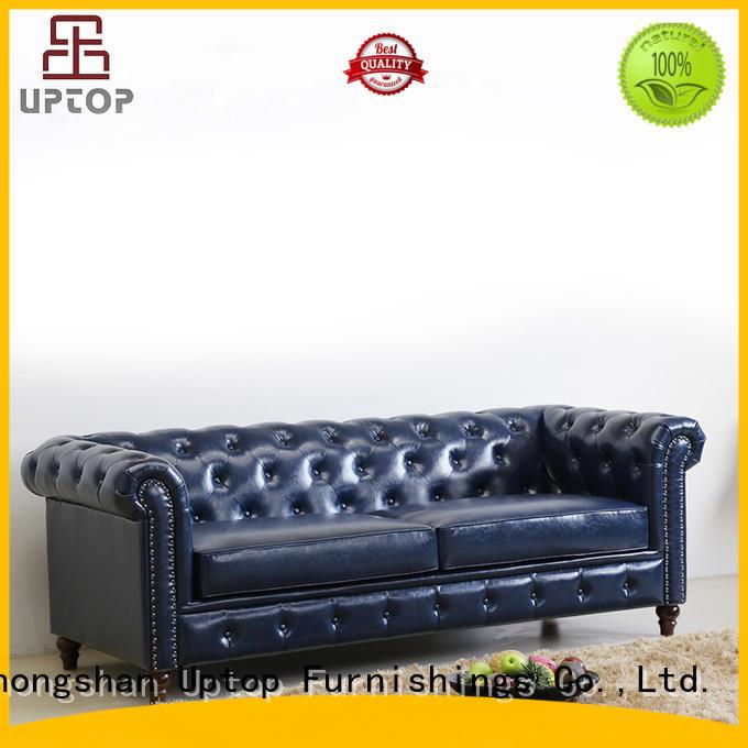 love seat arm OEM reception sofa Uptop Furnishings