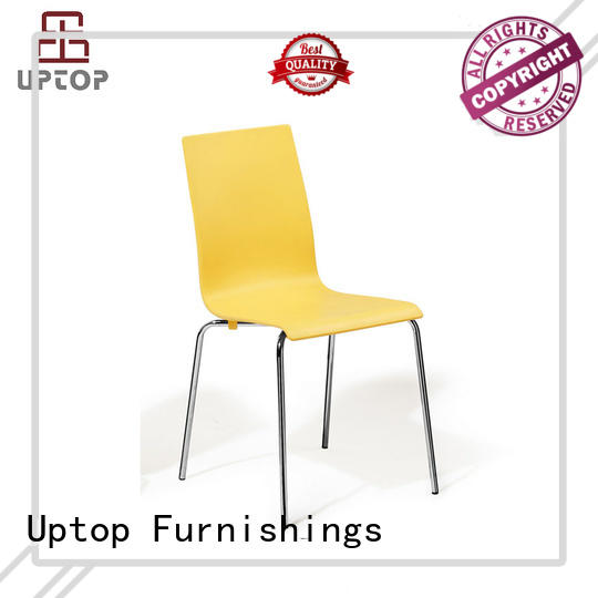 Uptop Furnishings outdoor plastic chair factory price for restaurant