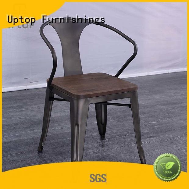 Uptop Furnishings back industrial metal chairs bulk production