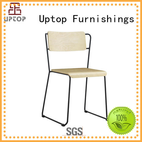 new-arrival metal outdoor dining chairs free design for cafe Uptop Furnishings