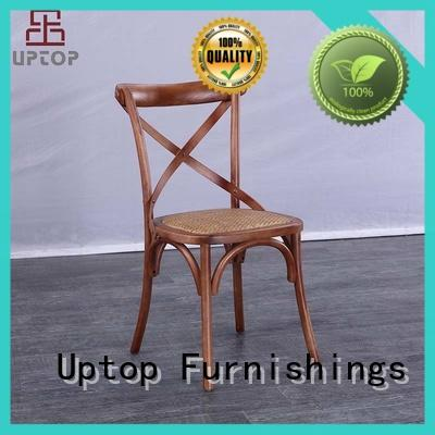 Uptop Furnishings classics wooden chair with armrest seat