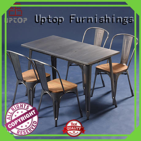 Uptop Furnishings new-arrival kitchen dinette sets factory price for hotel