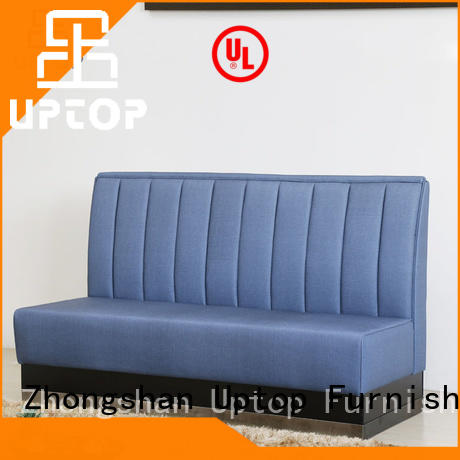 restaurant bench upholstered booth seating Uptop Furnishings