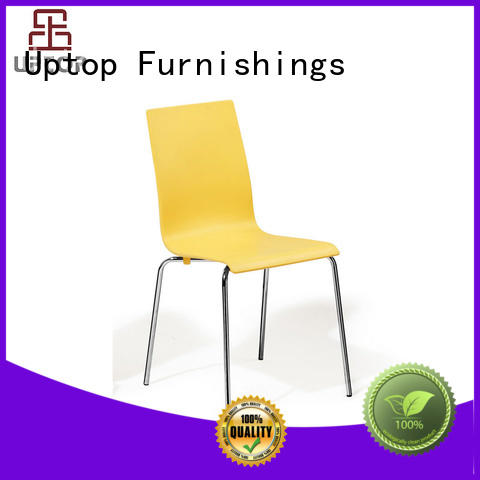 Uptop Furnishings cafe plastic chairs bulk production for hotel