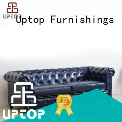 button waiting room sofa tufted for school Uptop Furnishings