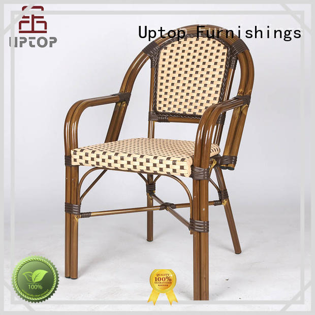Uptop Furnishings wicker vintage metal chairs order now for bar