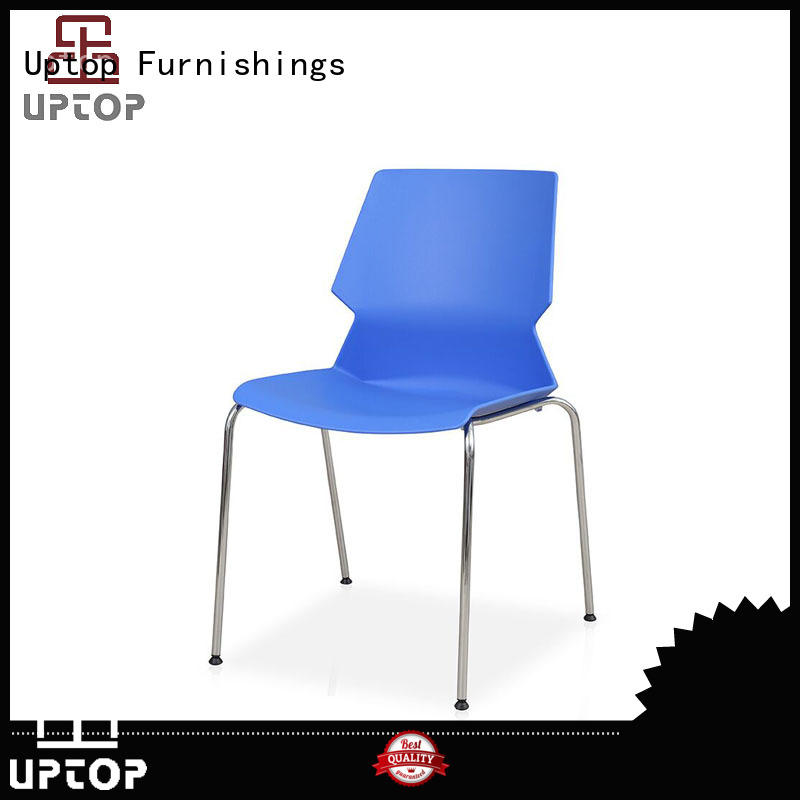 Uptop Furnishings dining plastic dining chairs bulk production for restaurant